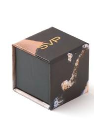 SVP Atomic Micro Adjustable Ring - Silver & Labradorite