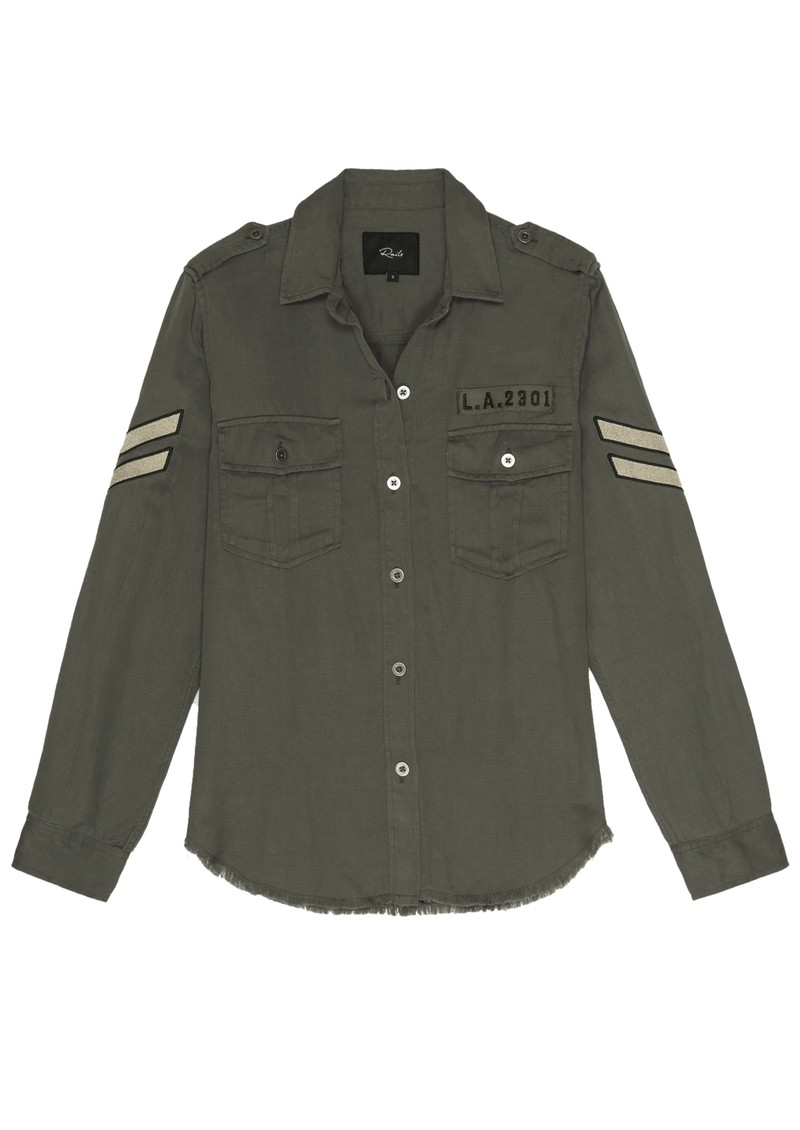 Rails Conrad Shirt - Olive Military main image