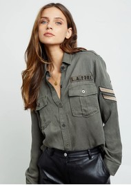 Rails Conrad Shirt - Olive Military