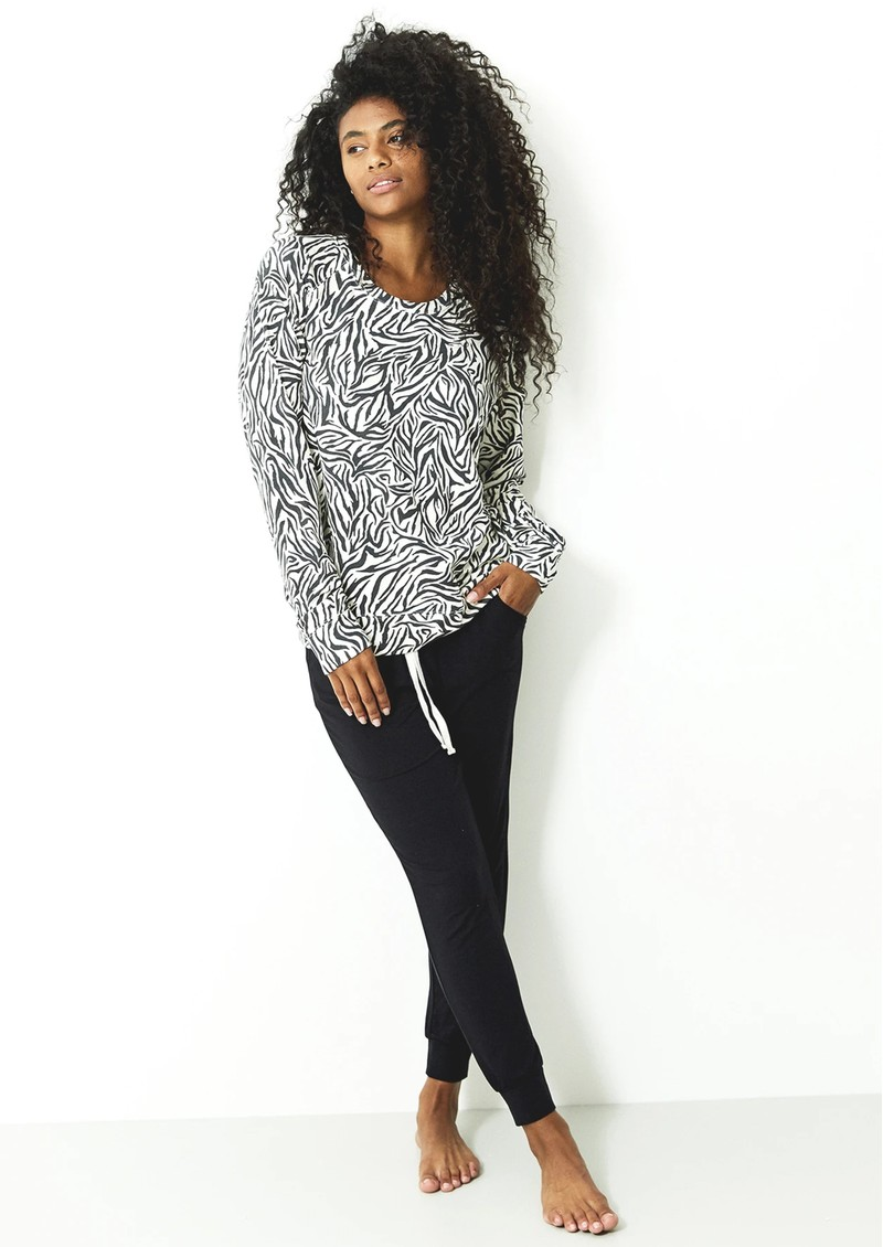 STRIPE & STARE Essential Sweatshirt - Safari main image
