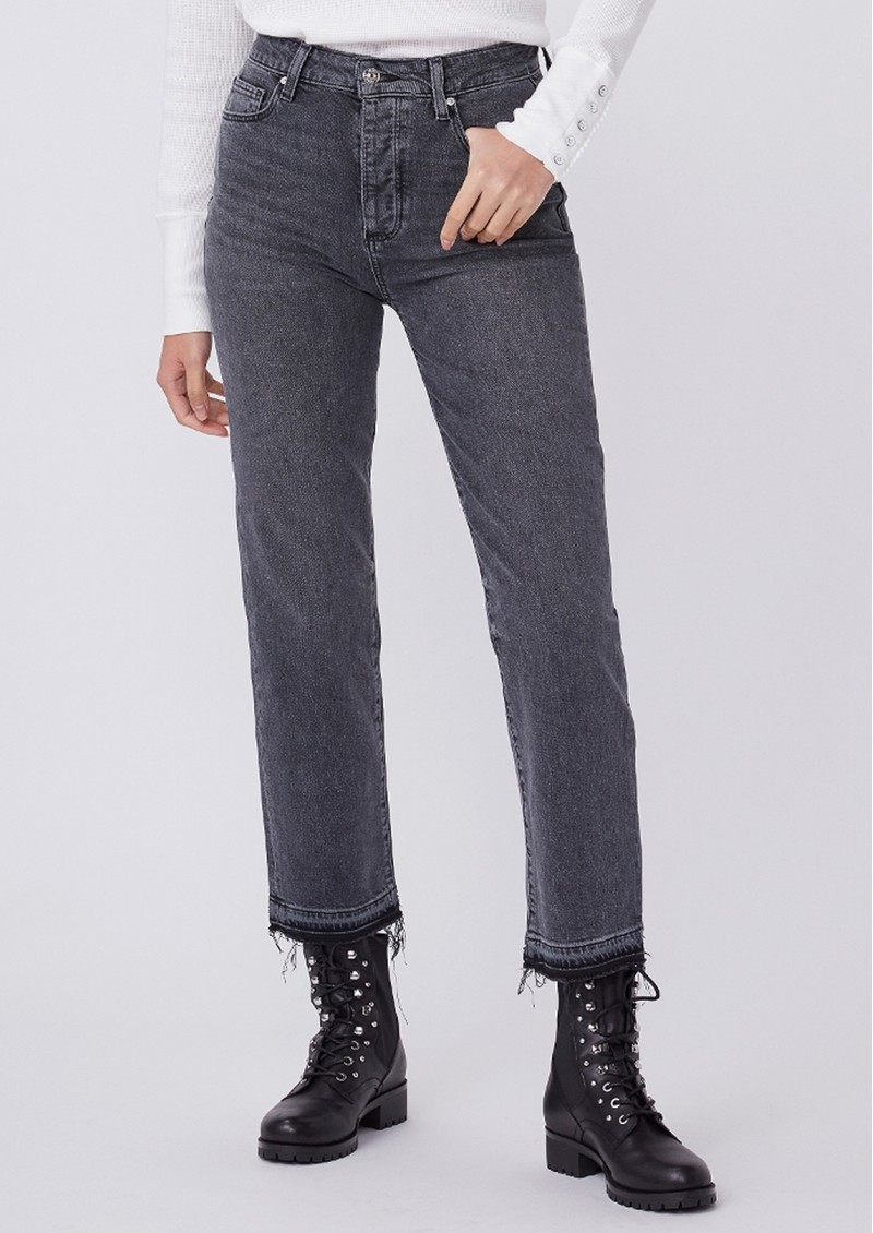 Paige Denim Sarah High Rise Straight Ankle Jeans - Deep End main image