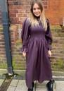 Adanna Dress - Plum Perfect additional image