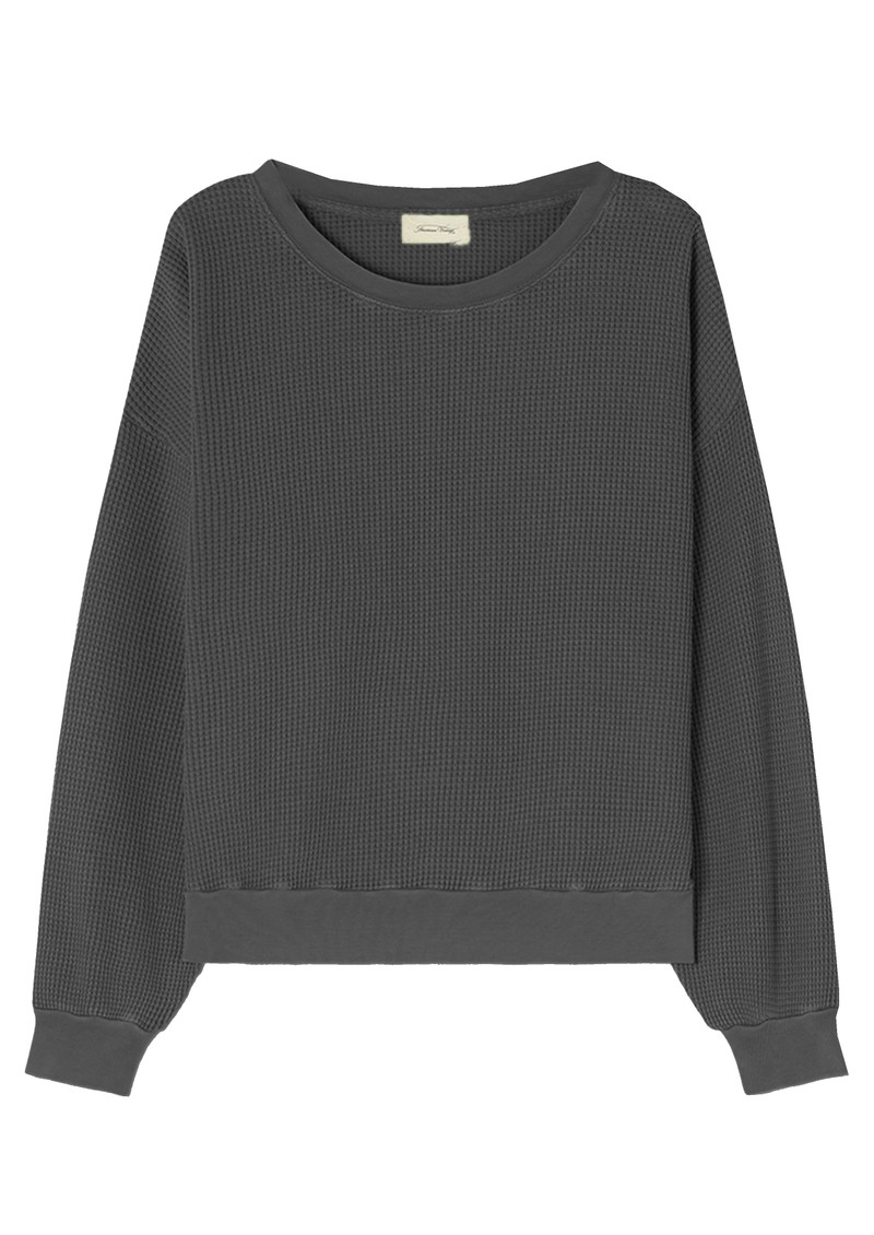 American Vintage Bowilove Sweater - Vintage Zinc  main image