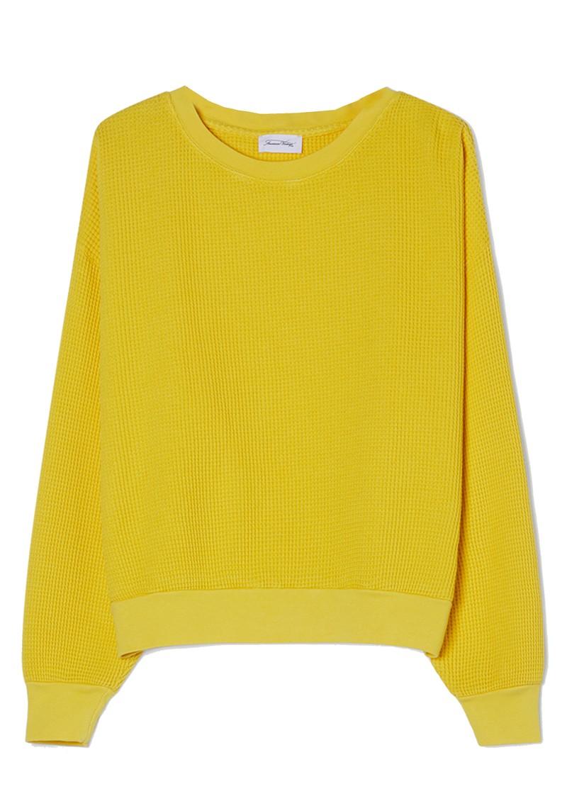 American Vintage Bowilove Sweater - Vintage Sunflower main image