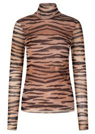 BAUM UND PFERDGARTEN Jodi Top - Natural Tiger