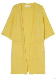 American Vintage East Long Short Sleeve Cardigan - Bergamot Melange