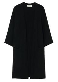 American Vintage East Long Short Sleeve Cardigan - Black