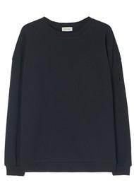 American Vintage Feryway Cotton Sweatshirt - Vintage Black