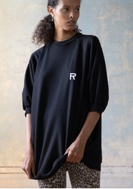 RAGDOLL Super Oversized Sweatshirt - Black