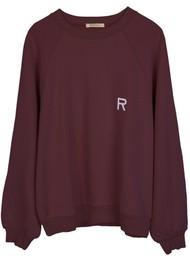 RAGDOLL Oversized Sweatshirt - Plum