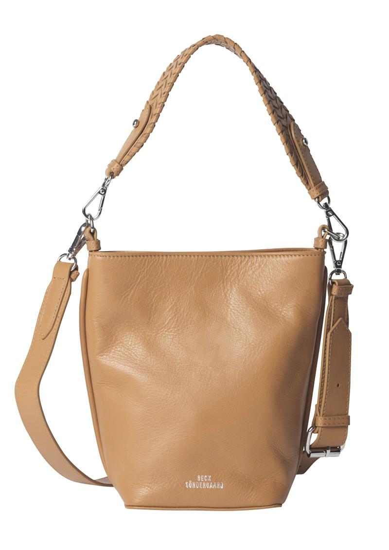 Becksondergaard Grainy Dahlia Leather Bag - Brown Sugar main image