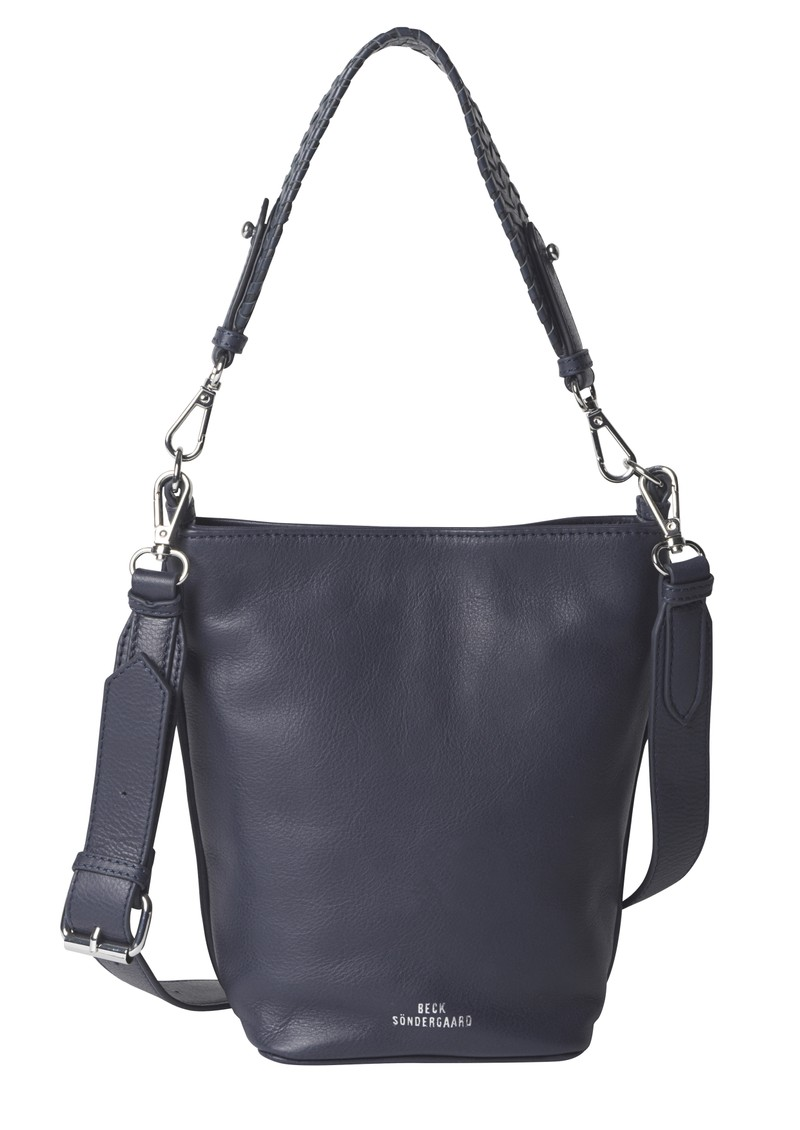Becksondergaard Grainy Dahlia Leather Bag - Night Sky main image