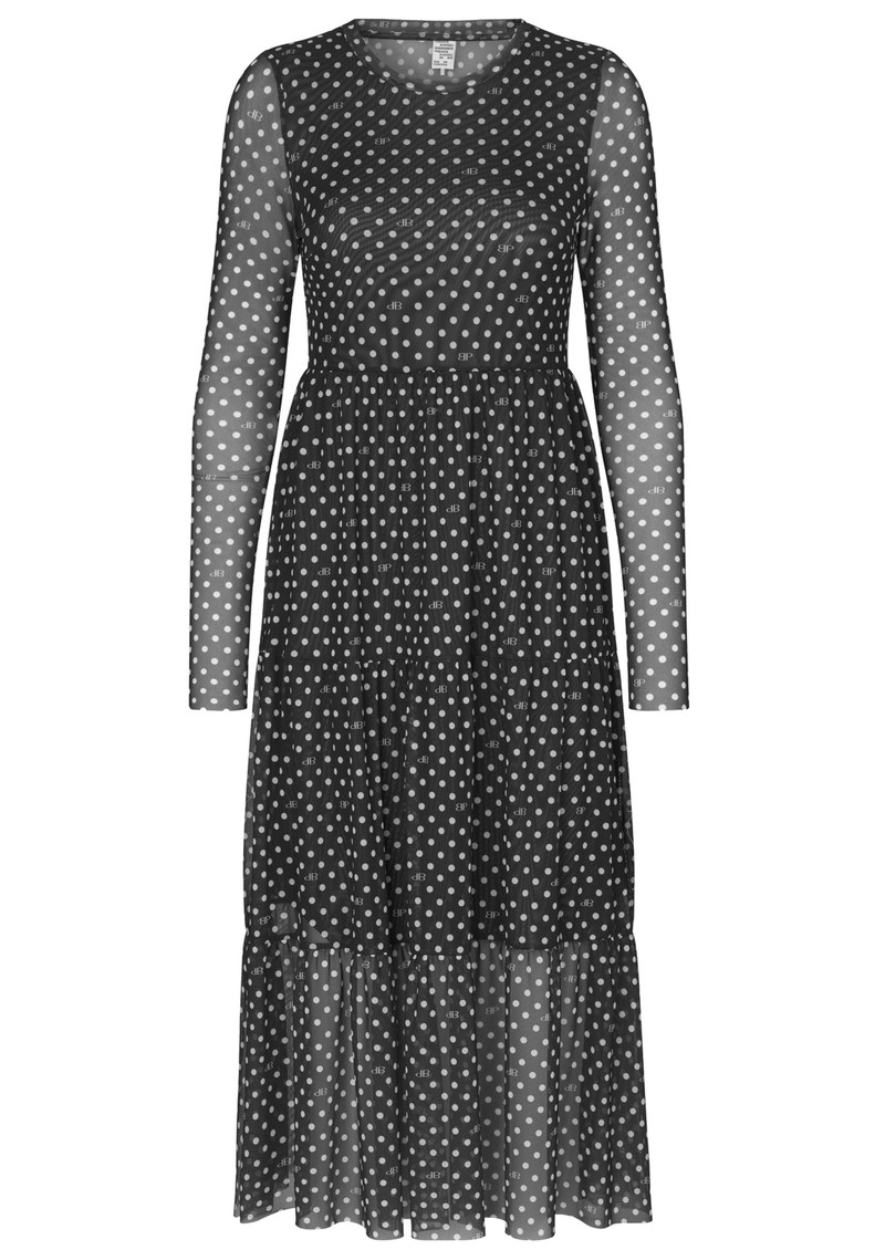 BAUM UND PFERDGARTEN Jocelina Dress - Black Polka Dot main image