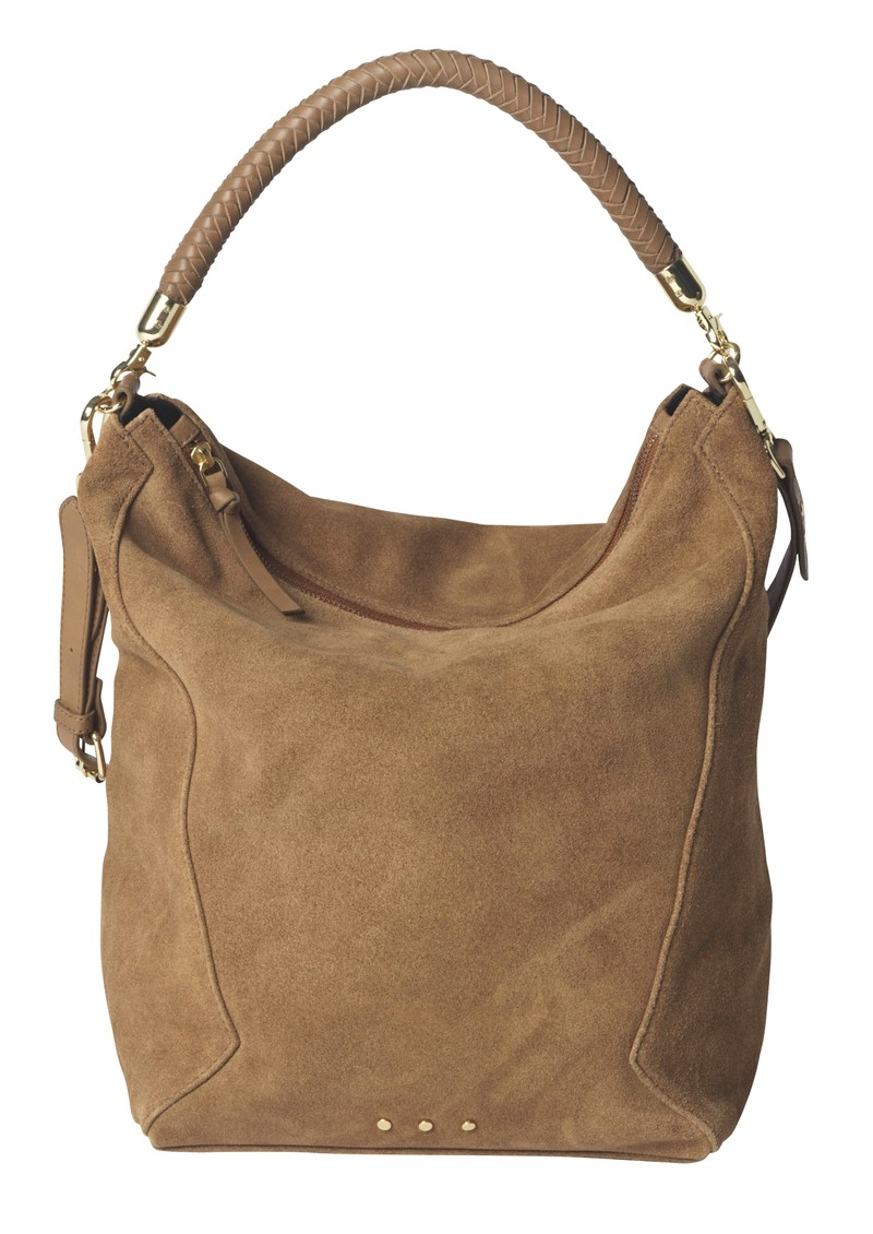 Becksondergaard Everly Suede Bag - Brownie main image