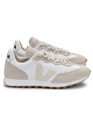 VEJA Riobranco Alveomesh Trainers - White Pierre Natural