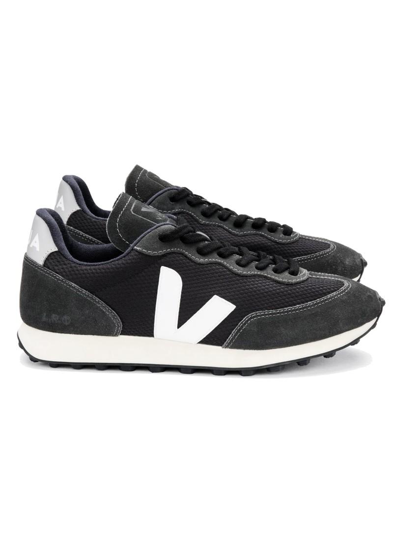 VEJA Riobranco Alveomesh Trainers - Black, White & Oxford Grey main image