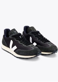 VEJA Riobranco Alveomesh Trainers - Black, White & Oxford Grey