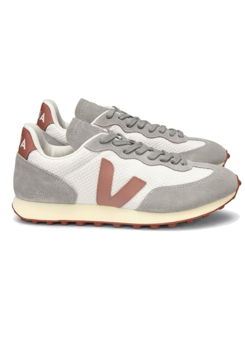 VEJA Riobranco Hexamesh Trainers - Gravel, Dried Petal & Oxford Grey main image