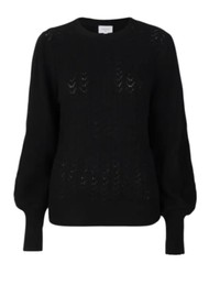 DANTE 6 Kinsely Cable Sweater - Raven