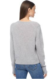 360 SWEATER Wendi Cashmere Sweater - Light Heather Grey