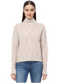 360 SWEATER Miriam Cashmere Sweater - Latte