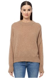 360 SWEATER Clementine Cashmere Sweater - Camel