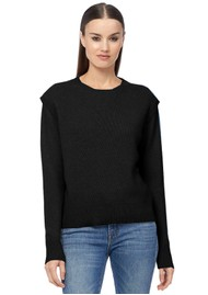 360 SWEATER Mila Cashmere Sweater - Black