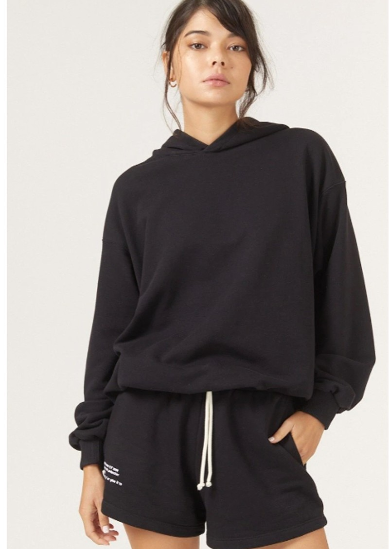 DONT TELL MAMA DTM Cotton Hoodie - Black main image