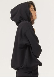 DONT TELL MAMA DTM Cotton Hoodie - Black