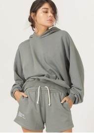 DONT TELL MAMA DTM Cotton Hoodie - Sage