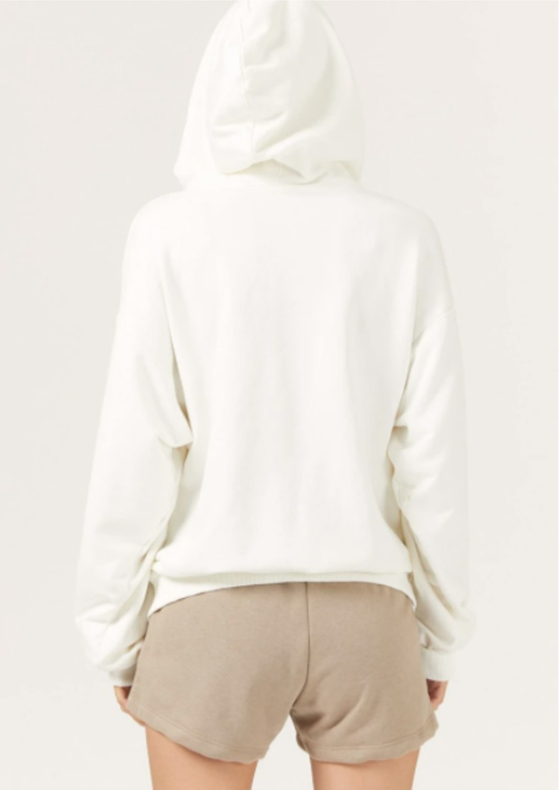 DONT TELL MAMA DTM Cotton Hoodie - Coconut main image