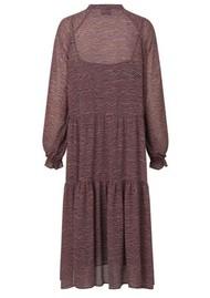 SECOND FEMALE Venezia Midi Printed Dress - Roan Rouge