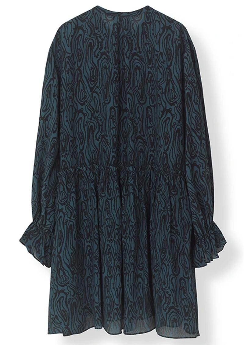 STELLA NOVA Line Dress - Blue & Black main image
