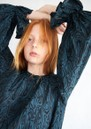 Line Dress - Blue & Black additional image