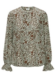 Day Birger et Mikkelsen Day Vida Blouse - Mineral