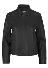 Day Birger et Mikkelsen  Day Fresh Leather Jacket - Black