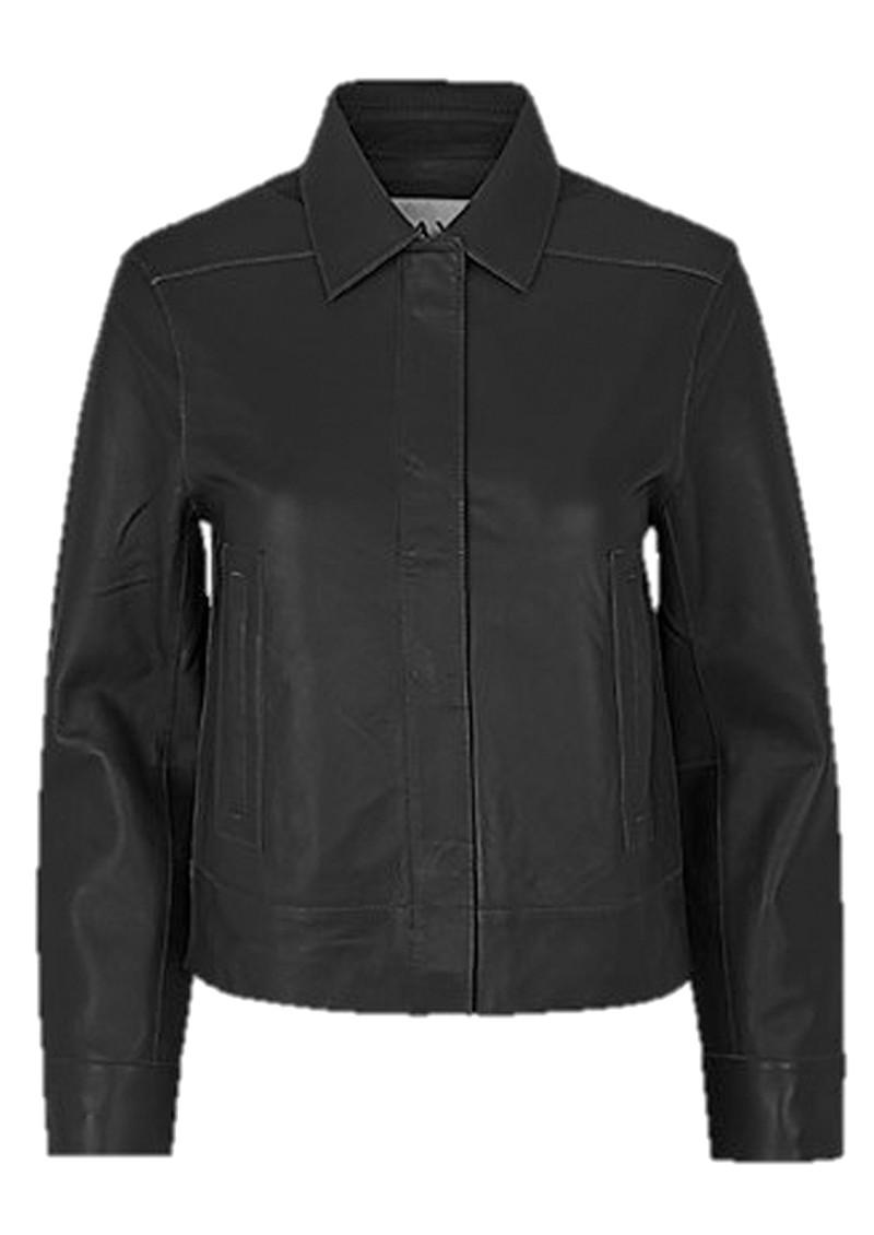 Day Birger et Mikkelsen  Day Fresh Leather Jacket - Black main image