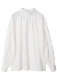 Day Birger et Mikkelsen Day Listen Cotton Top - White Fog