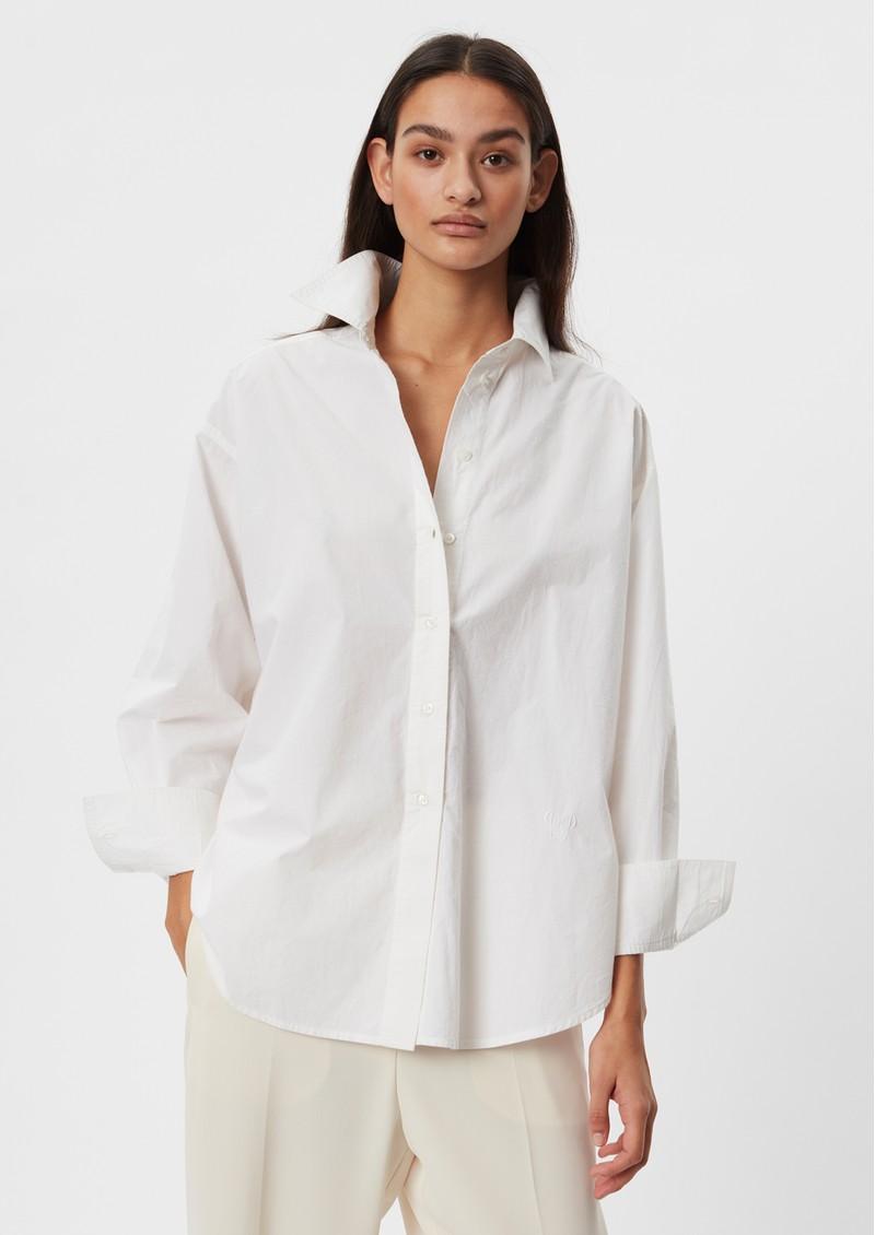 Day Birger et Mikkelsen Day Listen Cotton Shirt - White Fog main image