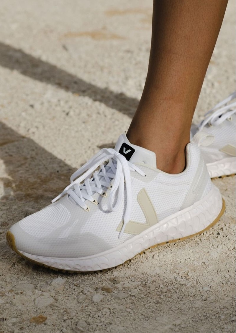 VEJA Condor Mesh Trainers - White Pierre main image