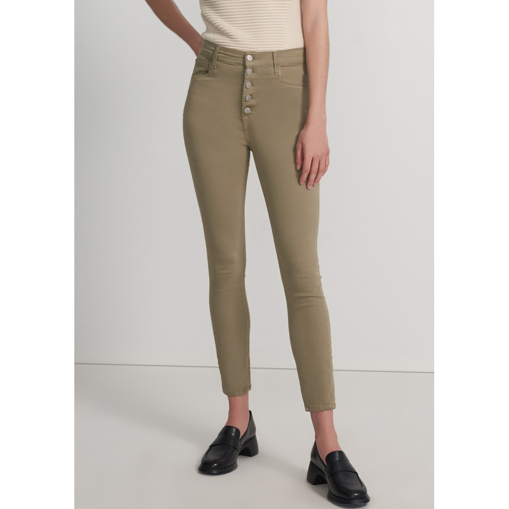 Lillie High Rise Photo Ready Crop Skinny Jeans - Mauz