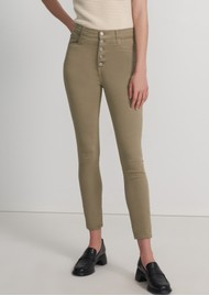 J Brand Lillie High Rise Photo Ready Crop Skinny Jeans - Mauz