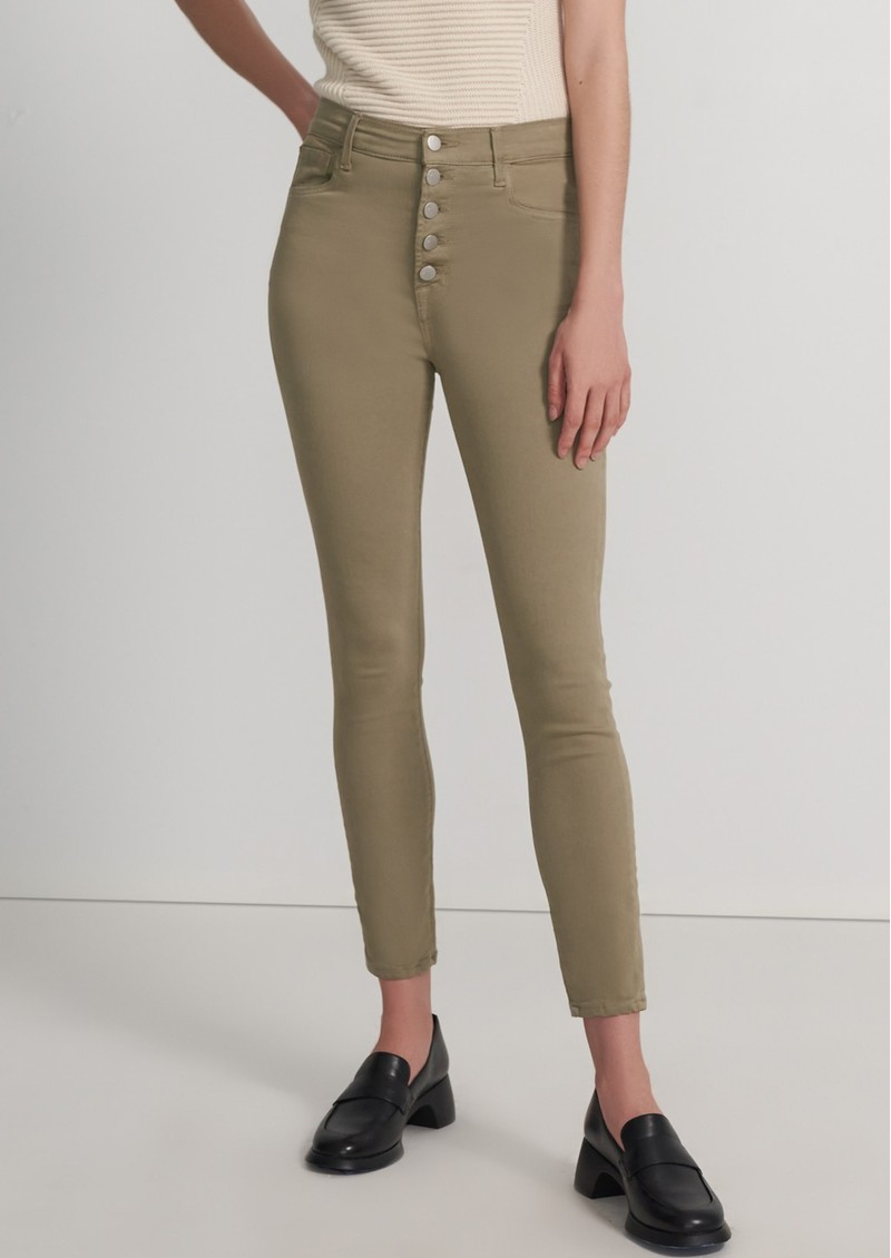 J Brand Lillie High Rise Photo Ready Crop Skinny Jeans - Mauz main image