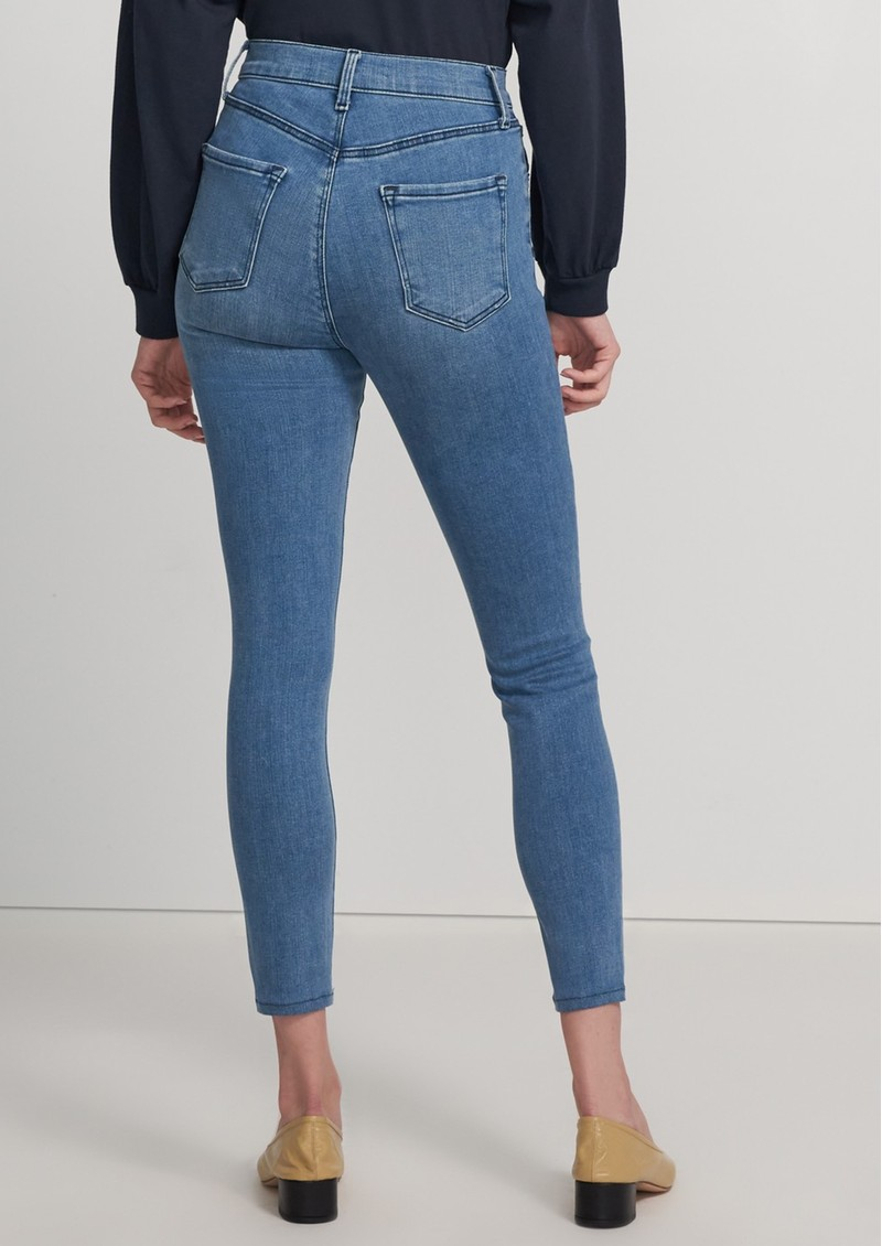 J Brand Lillie High Rise Photo Ready Crop Skinny Jeans - Vivacious main image