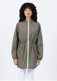 FLOTTE Amelot Sustainable Waterproof Raincoat - Khaki