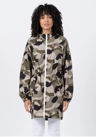 FLOTTE Amelot Sustainable Waterproof Raincoat - Camo