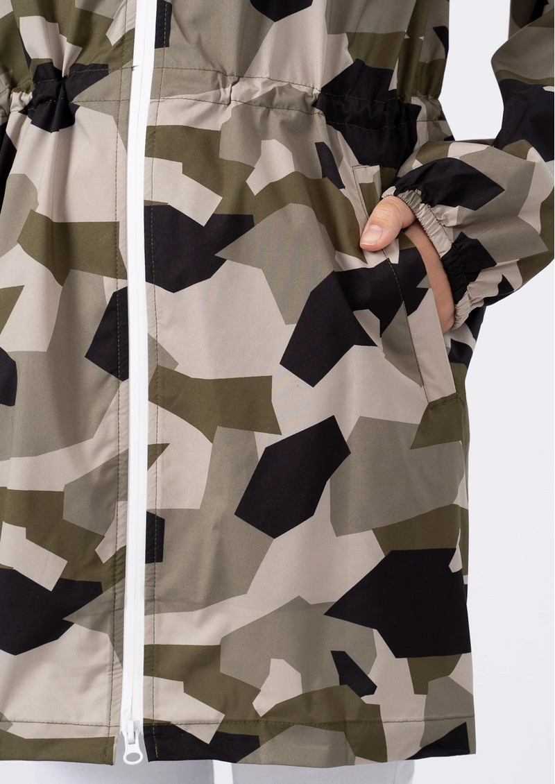 FLOTTE Amelot Sustainable Waterproof Raincoat - Camo main image