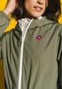 Amelot Sustainable Waterproof Raincoat - Khaki additional image