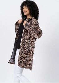 FLOTTE Amelot Sustainable Waterproof Raincoat - Leopard