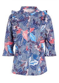 DEA KUDIBAL Astrid Printed Blouse - Native Blue